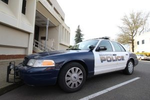 Beaverton Police Patrol Car