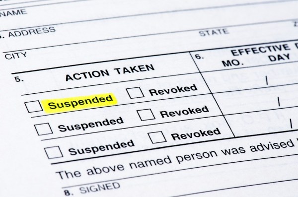 Oregon DUI Drivers License Suspensions
