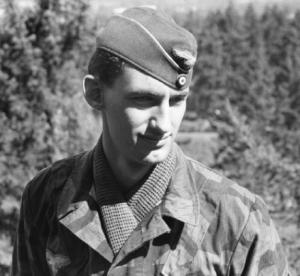Portland Police Capt. Mark Kruger dressed as a Nazi
