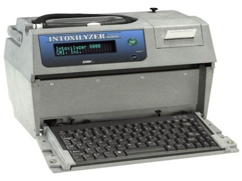 Oregon Intoxilyzer 8000