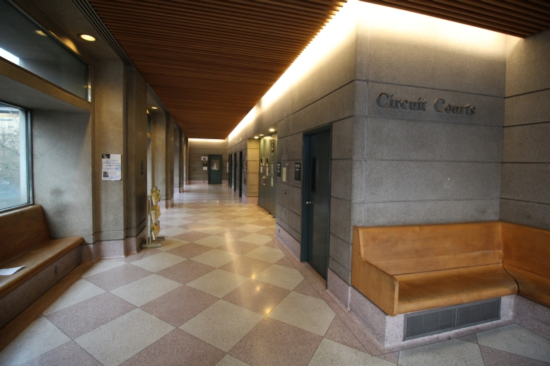 Multnomah County Justice Center Courtrooms