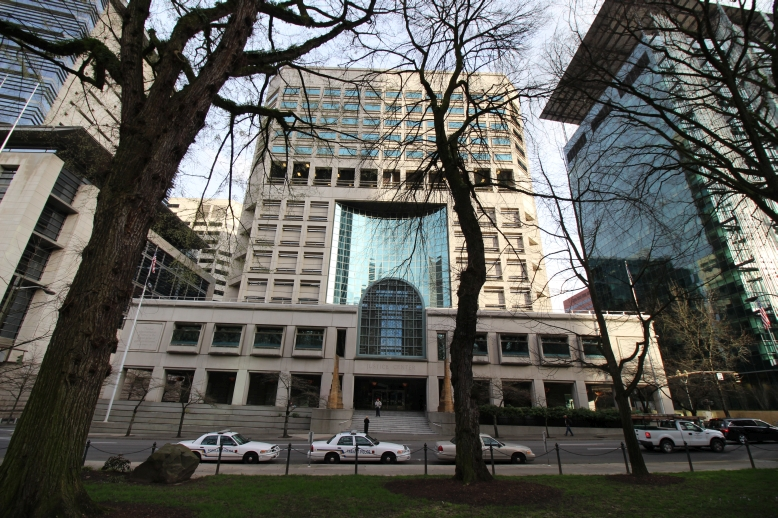 Multnomah County Justice Center Front