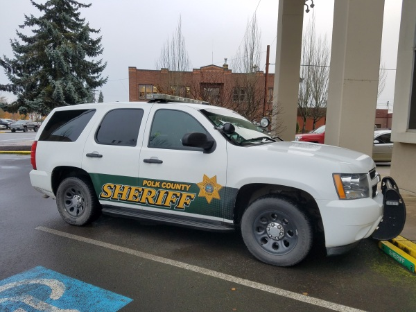 Polk County Oregon Sheriff's Department Patrol Vehicle