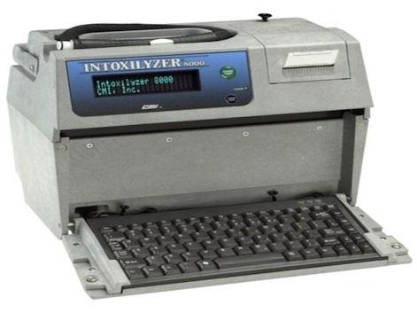 Intoxilyzer 8000 Breathalyzer